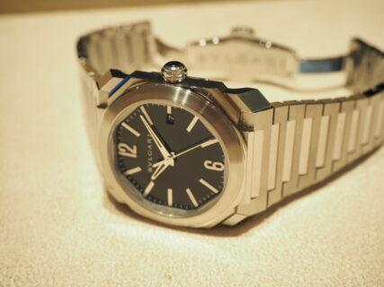 ラグジュアリーな時計を日常使いにどうぞ ブルガリ オクト オリジナーレ