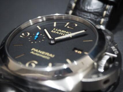 王道のデカ厚時計は汎用性抜群です パネライ ルミノール1950 PAM01312