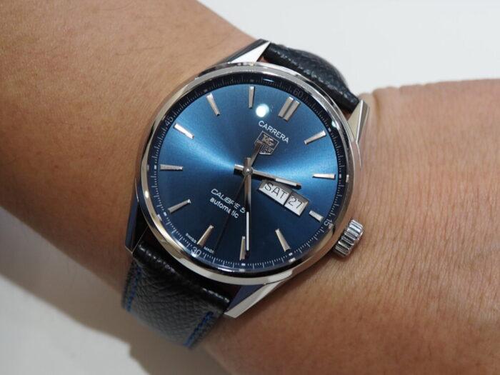 【ジャン・ルソー】お使いの時計が大変身します。オリジナルオーダーベルトでオンリーワンに。-TAG Heuer Jean Rousseau -P6270512-700x525