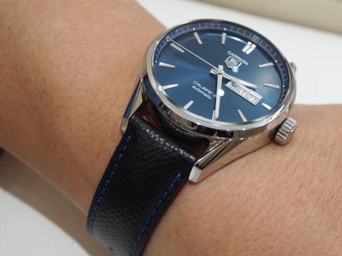 【ジャン・ルソー】お使いの時計が大変身します。オリジナルオーダーベルトでオンリーワンに。-TAG Heuer Jean Rousseau -P6270513-700x525
