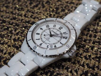 【シャネル】着け心地の良い時計といえば、セラミックウォッチ「J12 ホワイト」