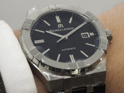 モーリスラクロア アイコン オートマティック 汎用性の高さが魅力の高級時計です