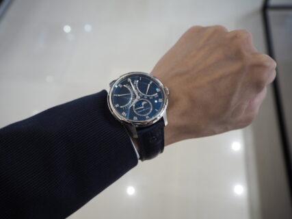 【モーリス・ラクロア】複雑時計もハイコスパで。「マスターピース ムーンフェイズ レトログラード」