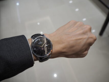 【EDOX】シンプルエレガントなエドックスの時計「レ・ヴォベール ラ・グランデ・ルネ オートマチック」