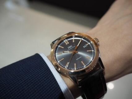 【IWC】金価格高騰中。真の価値のある時計は金無垢。「インヂュニア・オートマティック 」