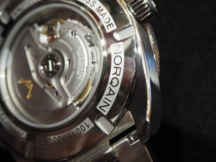 【ノルケイン】日本限定50本。マニュファクチュールムーブメント搭載モデル登場。「アドベンチャー スポーツ JP」-NORQAIN -P9140333-700x525