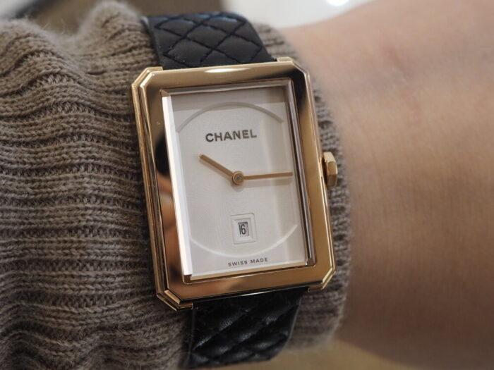 自分らしいスタイルを確立した女性の為の時計「シャネル ボーイフレンド」-CHANEL -PA150102-700x525