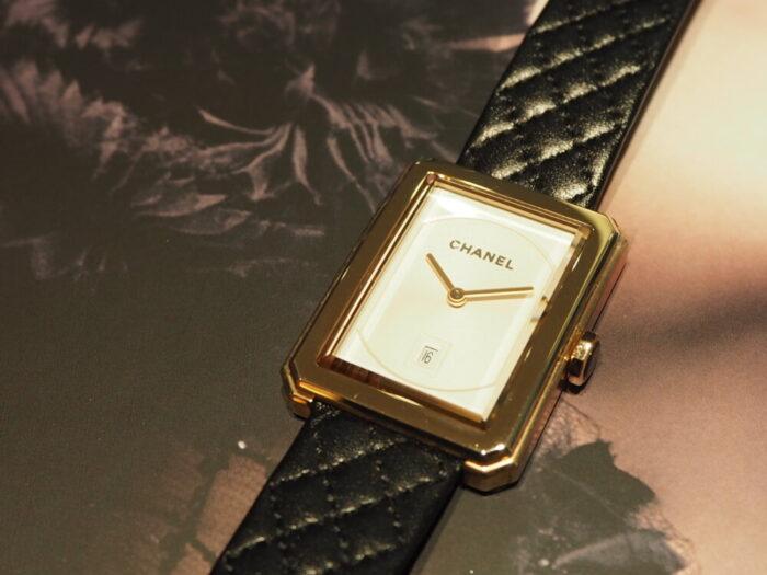 自分らしいスタイルを確立した女性の為の時計「シャネル ボーイフレンド」-CHANEL -PA150104-700x525