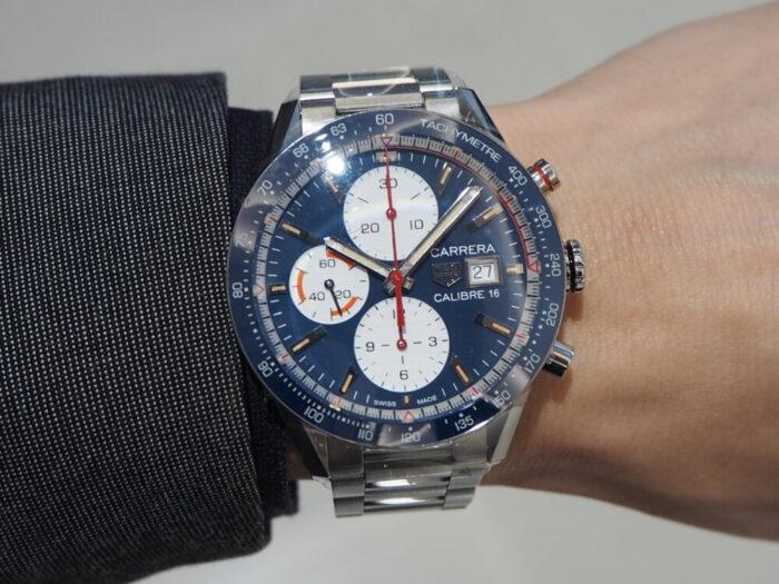 レーシング時計といえばタグ・ホイヤー「カレラ キャリバー16 クロノグラフ」-TAG Heuer -PA170140-700x525