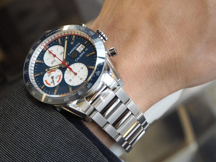 レーシング時計といえばタグ・ホイヤー「カレラ キャリバー16 クロノグラフ」-TAG Heuer -PA170141-700x525