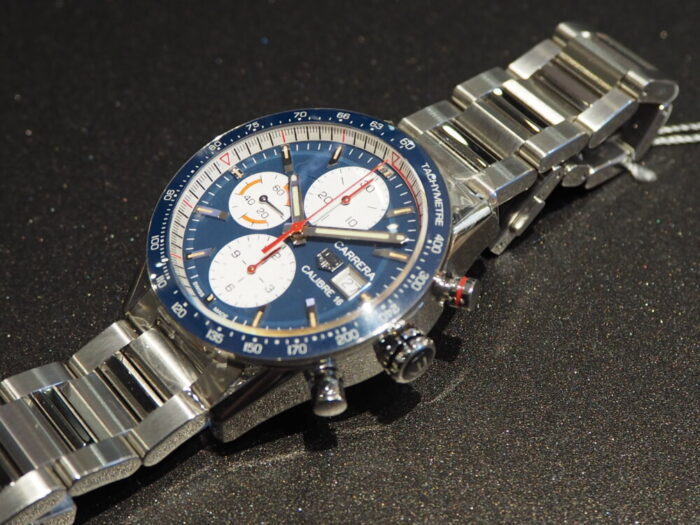 レーシング時計といえばタグ・ホイヤー「カレラ キャリバー16 クロノグラフ」-TAG Heuer -PA170142-700x525