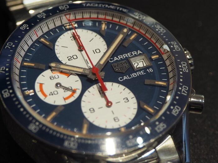 レーシング時計といえばタグ・ホイヤー「カレラ キャリバー16 クロノグラフ」-TAG Heuer -PA170143-700x525