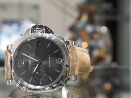 シェアも出来るブランド最小時計…。PANERAI「ルミノール ドゥエ(PAM00755)」