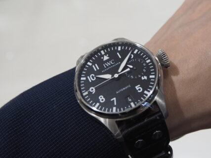 【IWC】圧倒的な存在感を放つ時計「ビッグ・パイロット・ウォッチ」