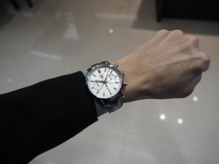 【タグ・ホイヤー】スポーティーでエレガントな新作の時計「カレラ キャリバー ホイヤー02 クロノグラフ」