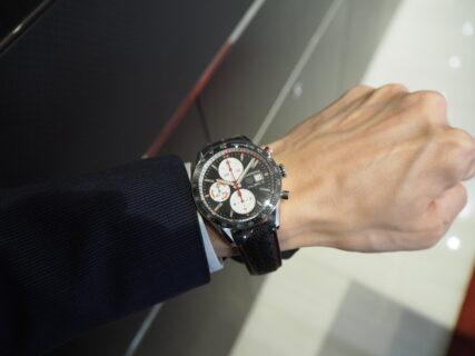 タグ・ホイヤーといえば「カレラ」。スポーティーなレーシング時計「カレラ キャリバー16 クロノグラフ」