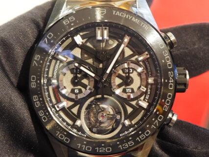生産僅かの複雑時計が入荷…。タグ・ホイヤー「ホイヤー02T トゥールビヨン」