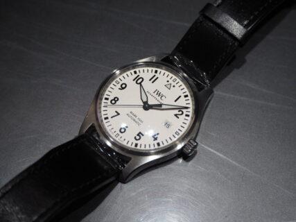 【IWC】視認性のいい時計「パイロット・ウォッチ・マーク XVIII」