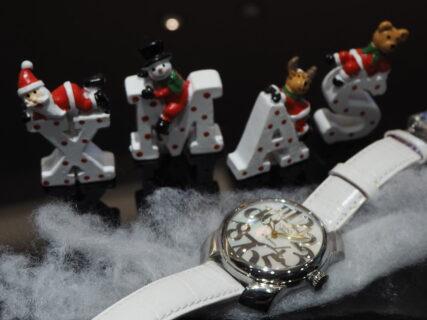 女性へのクリスマスプレゼントにおススメの時計「オッソ イタリィ アンジェラ」