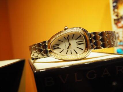 ラグジュアリー感覚で付けられる本格時計ブルガリ「セルペンティ セドゥットーリ」