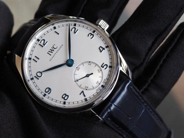 時代を経ても色褪せないシンプル時計。IWC「ポルトギーゼ・オートマティック 40」-IWC -P3052158-600x450