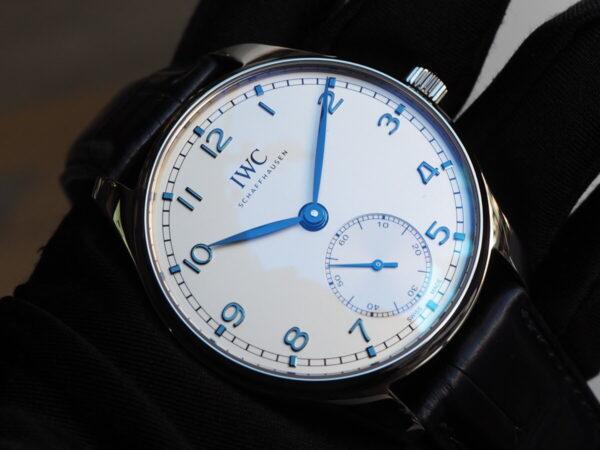 時代を経ても色褪せないシンプル時計。IWC「ポルトギーゼ・オートマティック 40」-IWC -P3052160-600x450