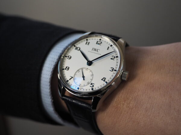 時代を経ても色褪せないシンプル時計。IWC「ポルトギーゼ・オートマティック 40」-IWC -P3052169-600x450