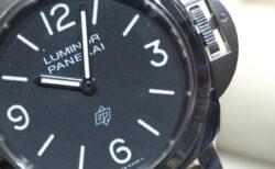 究極のシンプル時計…。パネライ「ルミノール ロゴ」