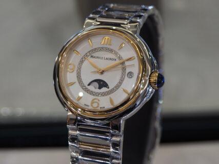 【モーリスラクロア】さりげなく上品な高級時計を…「フィアバ ムーンフェイズ」