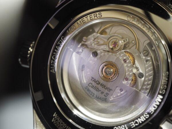 タグ・ホイヤーが贈る上品なシンプル時計…。「カレラ キャリバー5 オートマティック」-TAG Heuer 鹿児島店からのお知らせ フェア・イベント情報 -P5083294-600x450