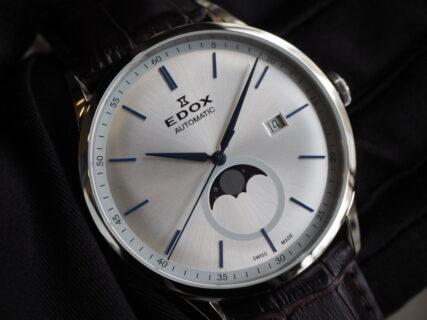 20万円台の時計の作り込みではない!? 記念品としても◎ EDOX「レ・ヴォベール ラ・グランデ・ルネ オートマチック」
