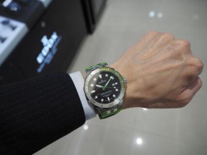 レジャーにおすすめの実用時計「エドックス  デルフィン オリジナル ダイバー デイト」