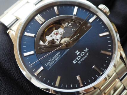 【EDOX】文字盤からムーブメントを鑑賞できる、大人エレガンス時計。