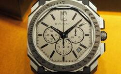 ブルガリの高振動クロノグラフ時計「オクト オリジナーレ」