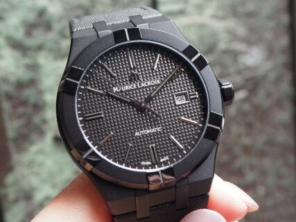 【モーリスラクロア】初めての高級時計にお薦め「アイコン オートマティック ブラック」