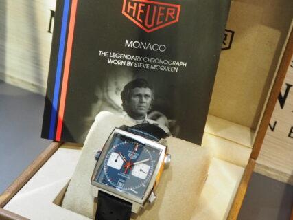 時計史に名を残す傑作…。タグ・ホイヤー「モナコ キャリバー11 」