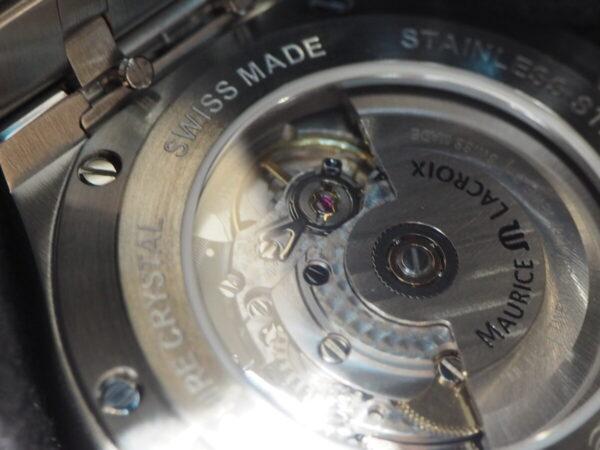 シンプルかつスポーツエレガントなモーリス・ラクロアのアイコンモデル「アイコン オートマティック」-MAURICE LACROIX スタッフのつぶやき -P6130190-600x450