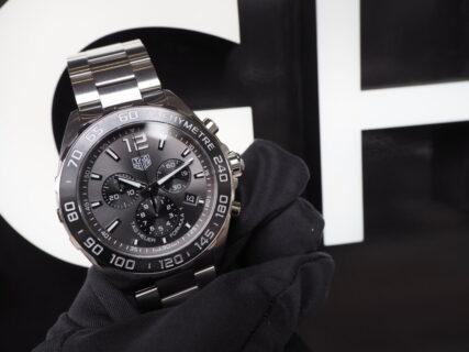 結納返しや初めての高級時計をお探しの方へお薦め「フォーミュラ1クロノグラフ」