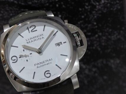 欠品続出モデルが待望の入荷…。パネライ「PAM01314」