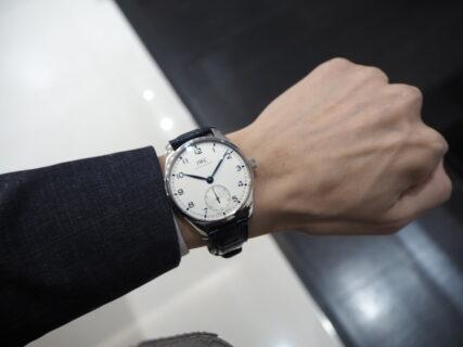シンプルな時計はいつの時代でも愛され続ける「IWC ポルトギーゼ オートマティック40」