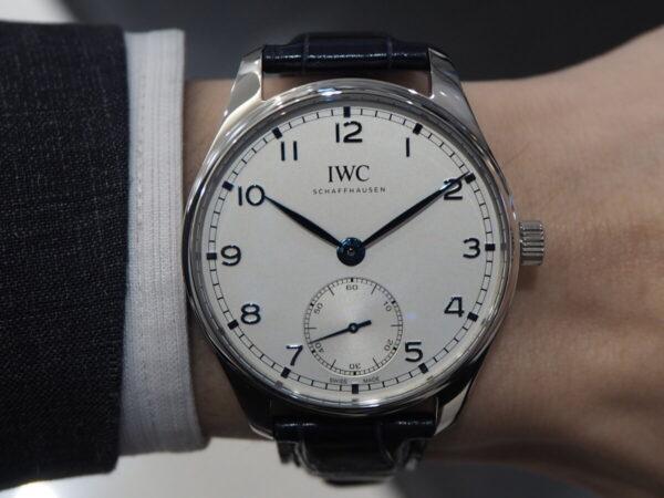 時代を経ても色褪せないシンプル時計。IWC「ポルトギーゼ・オートマティック 40」-IWC -P6260271-600x450