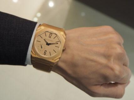 時計玄人にも自慢できる時計「ブルガリ オクト フィニッシモ」
