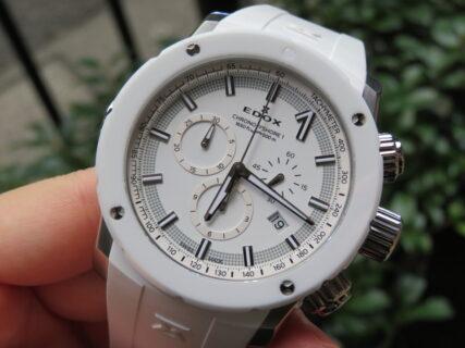 夏だからこそ時計も爽やかに。EDOXフェア開催中!