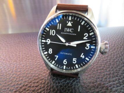 【IWC】オリジナルデザインの良い所を残しスモールサイズに…新作「ビッグ・パイロット・ウォッチ 43」