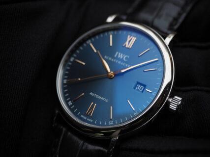 """シンプル時計は""""カラー""""で差をつけるべし。IWC「ポートフィノ・オートマティック」"""