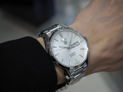 シンプルで永く使える機械式時計「タグ・ホイヤー カレラ キャリバー5 デイデイト」