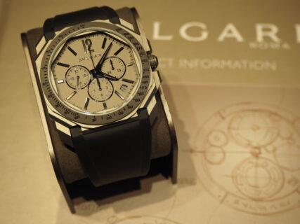 渋カッコいい…お洒落時計。ブルガリ「オクト オリジナーレ クロノグラフ」