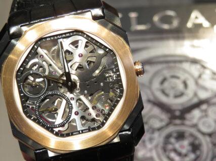 ブルガリが手掛ける驚愕のスケルトン時計…。「オクト フィニッシモ」