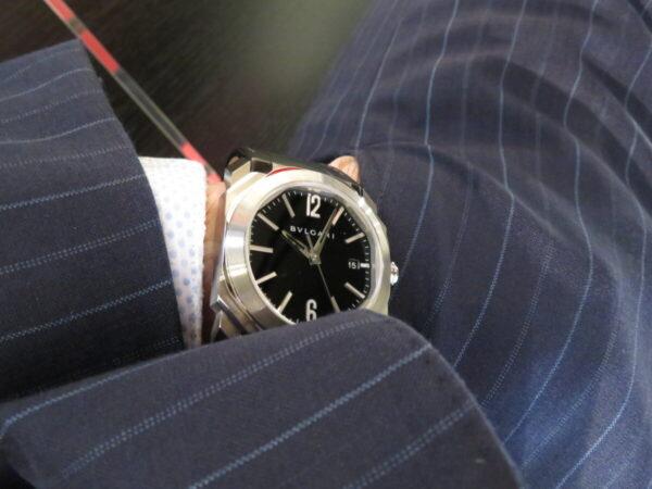 時計デザイナーの巨匠が手掛けた…。ブルガリ「オクト オリジナーレ クロノグラフ」-BVLGARI -IMG_1139-600x450