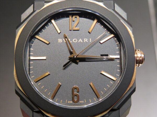 マッドブラックとゴールドが相性抜群…。ブルガリ「オクト オリジナーレ オートマティック」-BVLGARI -IMG_1274-600x450